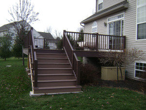 Azeks decking and rail. Low maintenance and beautiful.