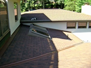 Enclosed pool below this roof. There were a lot of moisture issues, which were all resolved by The Home Artisan Group.