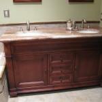 Furniture grade Bertch bath vanity.