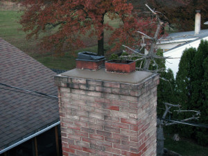 New chimney cap.