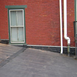 New rubber roofing in Reading, PA.