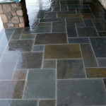 PA bluestone with beautiful natural variations.
