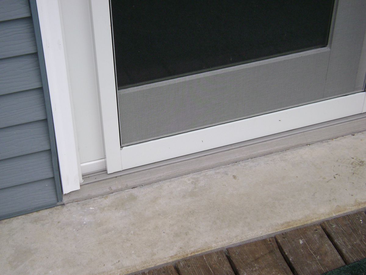 Pvc Brick Mold Goes On All Of Our Vinyl Exterior Doors