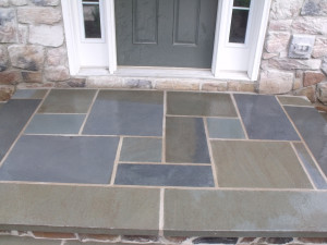 Pennsylvania Bluestone front porch slab.