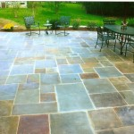 Radiantly heated PA bluestone patio. Never shovel and a couple of months of extra outdoor season every year.