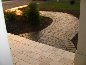 Short and sweet radius work to add an effective dramatic touch.