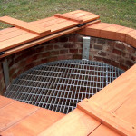 Spanish red cedar well cover. The internal grate was new also.