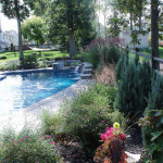 The only thing that can make a pool like this more inviting is surrounding it with loads of natural beauty!
