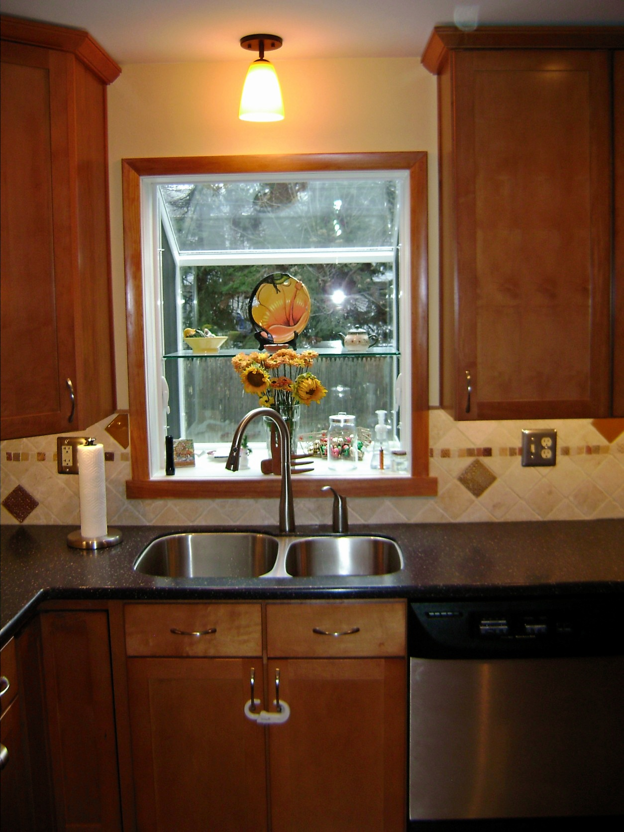 This Garden Window Was The Hinge Point Of This Kitchen