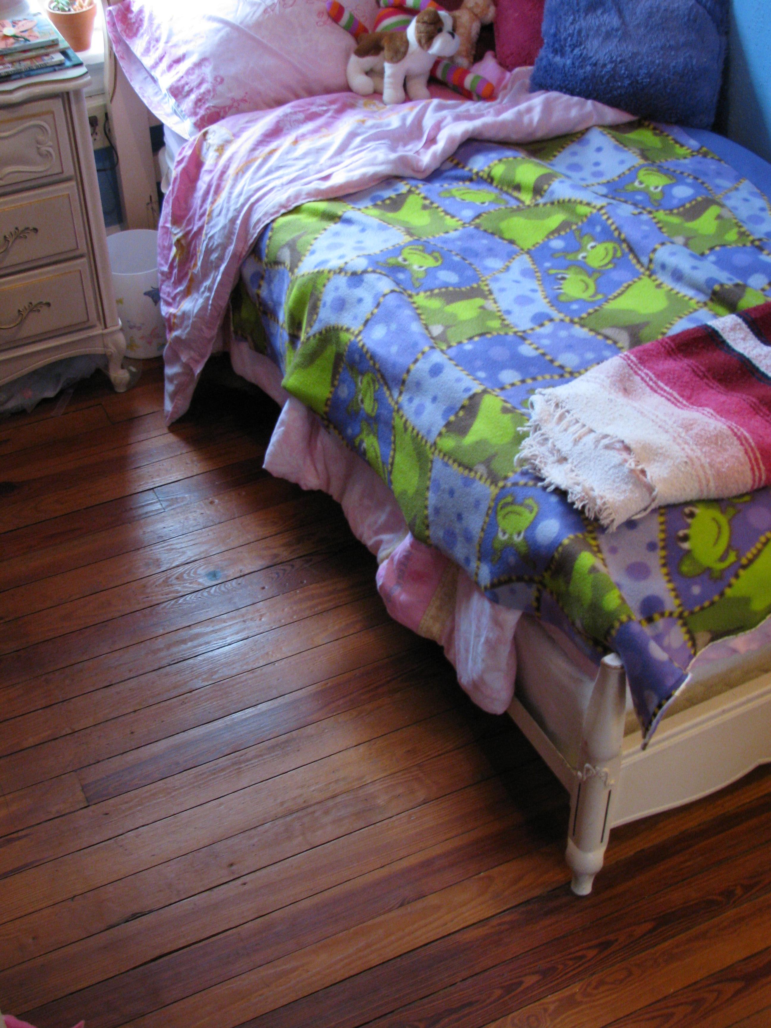 This Floor Was Unrestorable According To A Carpet Salesman
